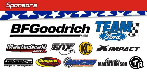 Swift / Olliges Sponsors, BFGoodrich Tires, Team Ford