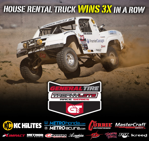 2014 General Tire Trophy Lite Race Series, KC Hilites, Mastercraft Safety, Method Race Wheels, Azunia Tequila, Impact, FOX, Currie Enterprises, Metro Honda, Metro Acura, Children of The Dirt, Tanimura and Antle, Kreed, Todd Jackson