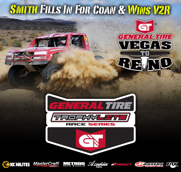 2013 General Tire Trophy Lite Race Series, Kevin Smith, BITD Vegas To Reno, KC Hilites, Mastercraft Safety, Method Race Wheels, Azunia Tequila, Impact, Fox