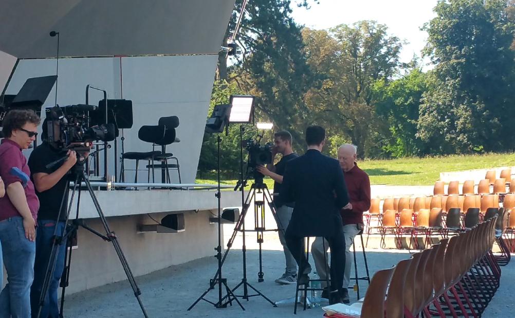 Bernard Haitink interview August 2016