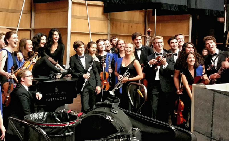 Backstage with the Labeques, August 2016