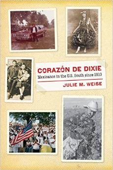 """Brown Bag Lecture: """"Corazon de Dixie: Mexicanos in the U.S. South since 1910"""" @ Barnard Observatory, Tupelo Room"""