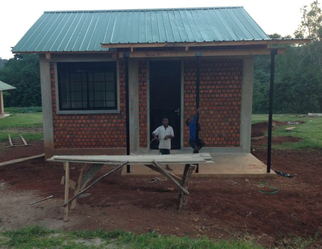 New one-bedroom house for Child Care Manager