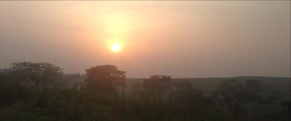 Sunrise Over GSF Farm