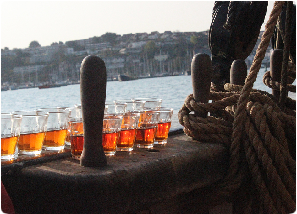 rum on deck