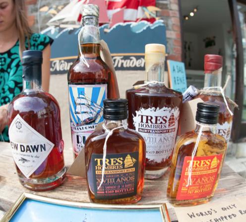 sail-shipped rum