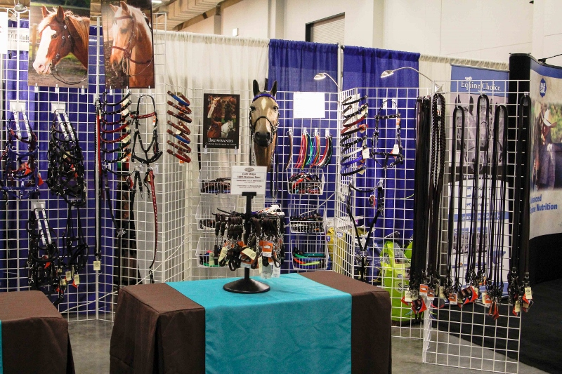 SpecTACKular's Booth at the Midwest Horse Fair