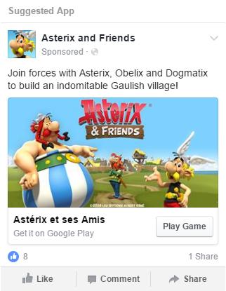 Addict Mobile -gaming mobile marketing - bandai namco Atserix and Friends screenshot