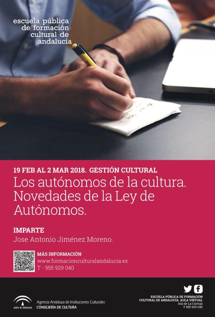 Los autónomos de la cultura