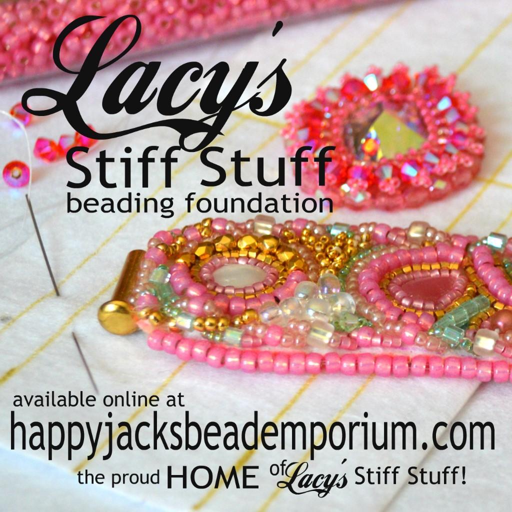 Lacy's Stiff Stuff premium beading foundation