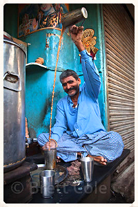 Man making Chai!