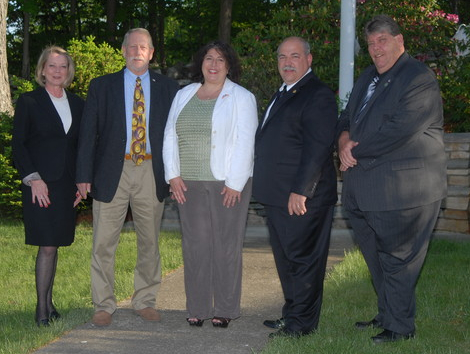 From left, Ellen Hayes, Steven Mackay, Jacqueline Annabi, Louie Luongo, and Larry Cobb are five of the six candidates endorsed by the Putnam Valley Republican Committee for November�s town elections. Not pictured: Louis DiCarlo.