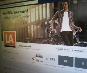 Lehmannaudio ist auf vielen sozialen Netzwerken vertreten