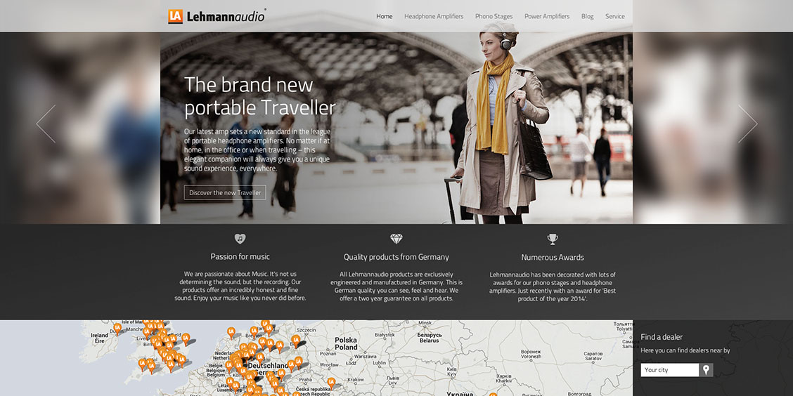 Lehmannaudio Website