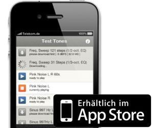 Test Tones App