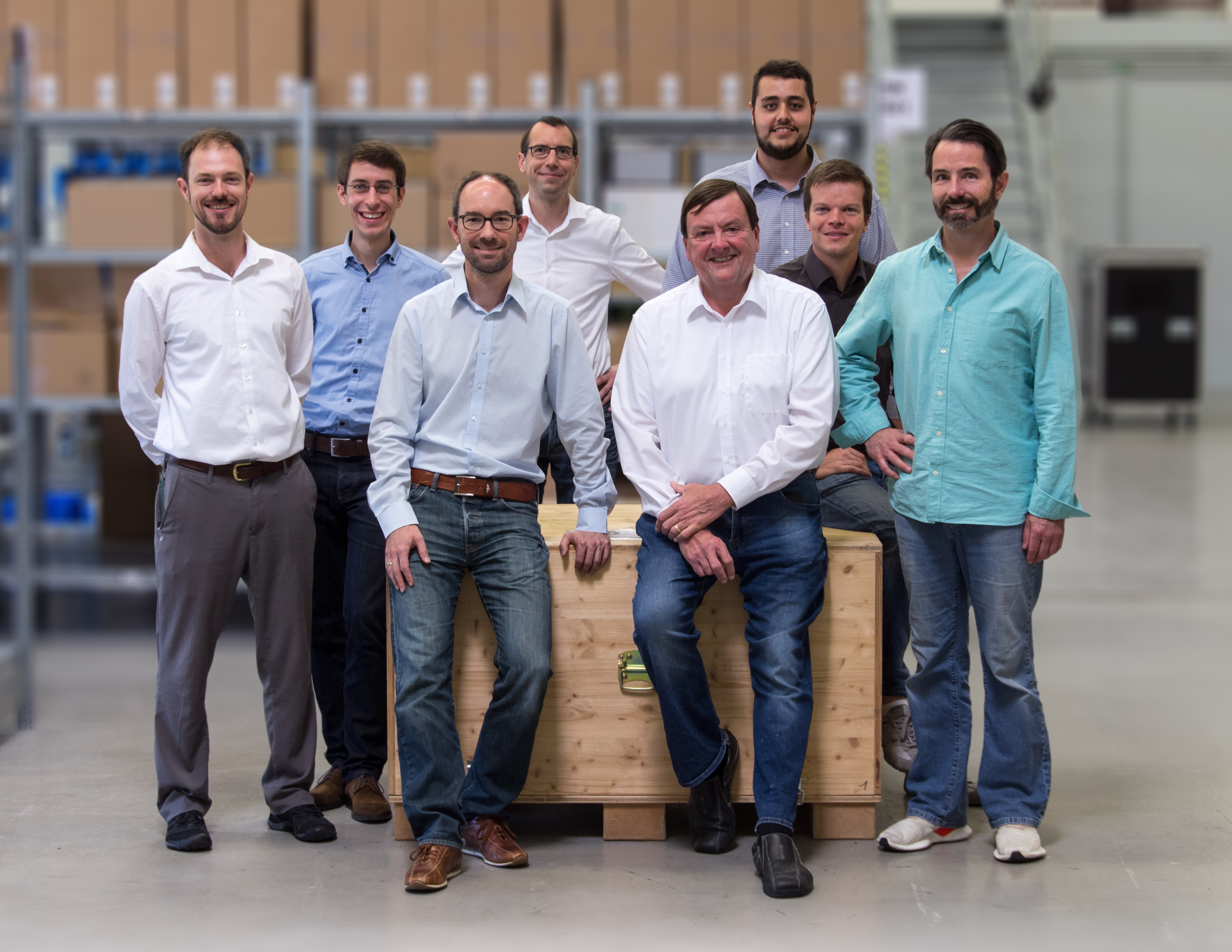 Das Nanoscribe Team ist für den Start seiner US-Tochter gerüstet.
