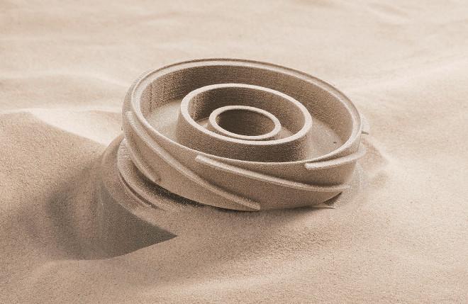 Durch das 3D-Printing-Verfahren für Gussformen lassen sich die hohen Kosten für den Vorrichtungsbau deutlich reduzieren