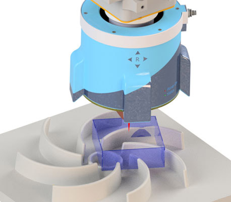 Innovative SensePRO-Sensorik ermöglicht eine 360°-Rundumsicht für die Prozessführung und Qualitätssicherung.