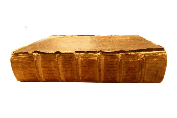Livre de 1655 AVANT restauration