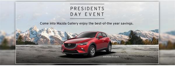 Presidents Day Event