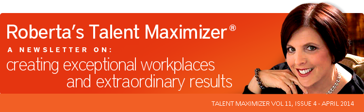 HR Matters // A Newsletter On: Creating exceptional workplaces and extraordinary results