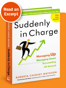 Read an Excerpt of Suddenly in Charge