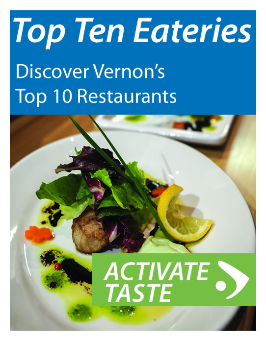 Discover Vernon's Top 10 Restaurants - Activate your Tastebuds
