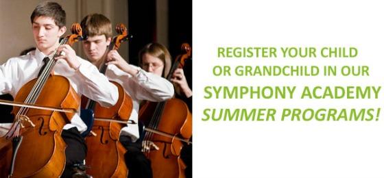 Symphony Academy Summer Programs