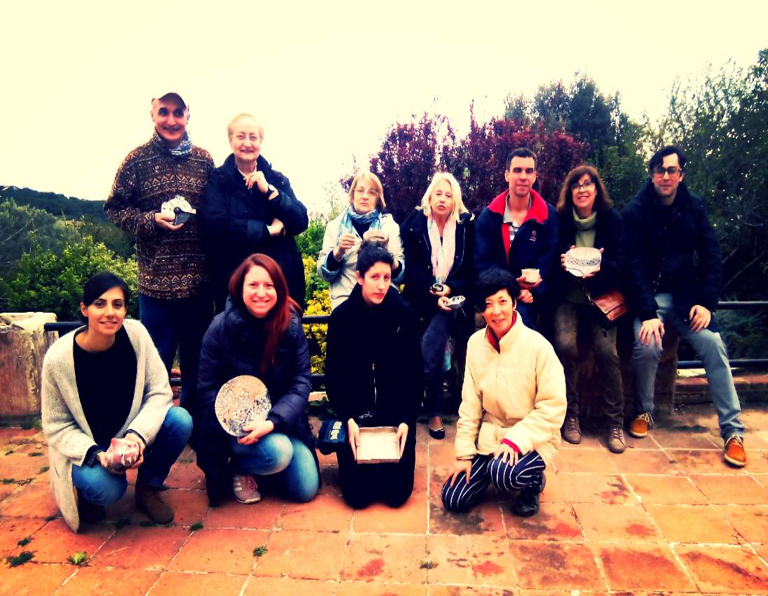 curso intensivo de cerámica en Benissa, Alicante, sept 2014