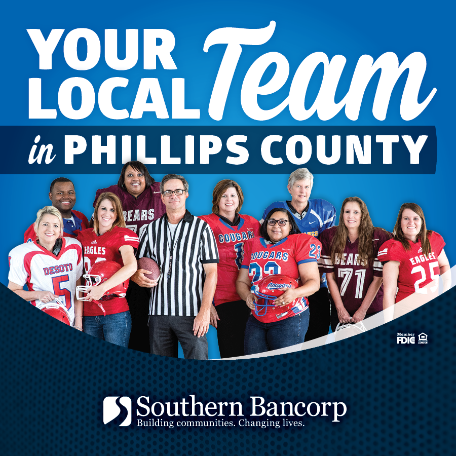 Your local Southern Bancorp Team in Phillips County