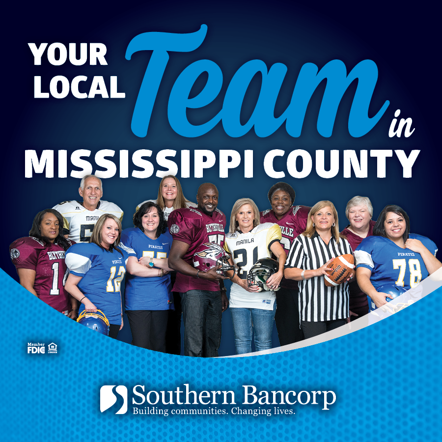 Your local Southern Bancorp Team in Mississippi County