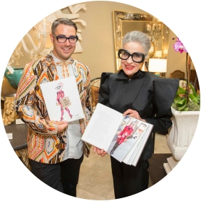 Advanced Style Book signing, Ari Seth Cohen and Joy Venturini Bianchi at epoca june 9 2016