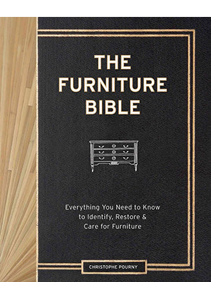 Cover: The Furniture Bible by Christophe Pourny