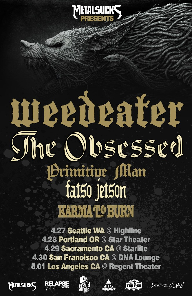 The Obsessed West Coast Tour
