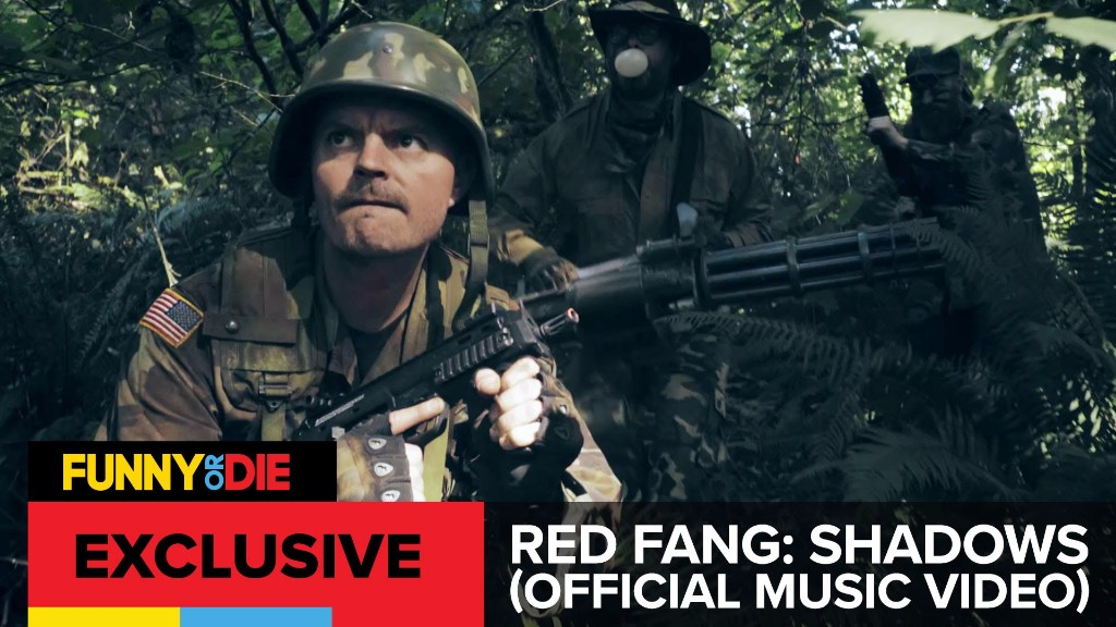 """RED FANG Premiere """"Shadows"""" Music Video via Funny Or Die"""