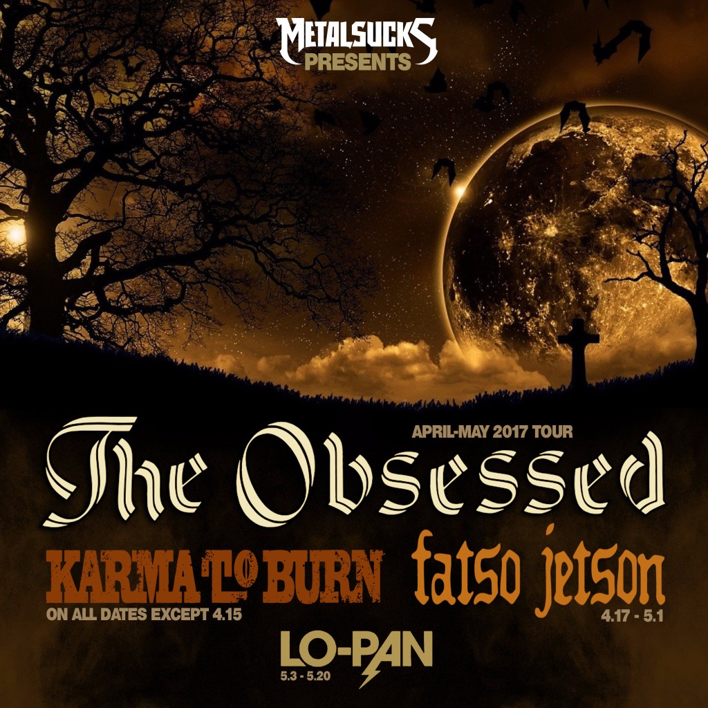 The Obsessed US Tour Dates