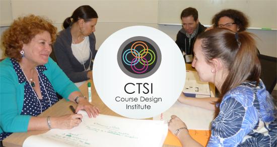 CTSI Course Design Institute Promo Image