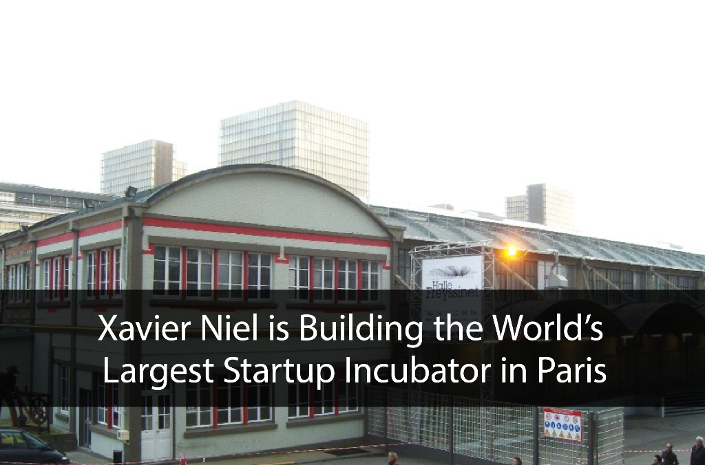 Xavier Niel is Building the World's Largest Startup Incubator in Paris