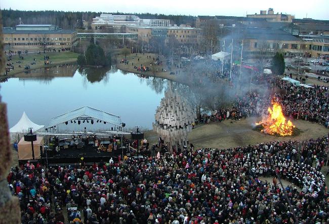 Valborgskören 2007, Umeå - Sköna Maj