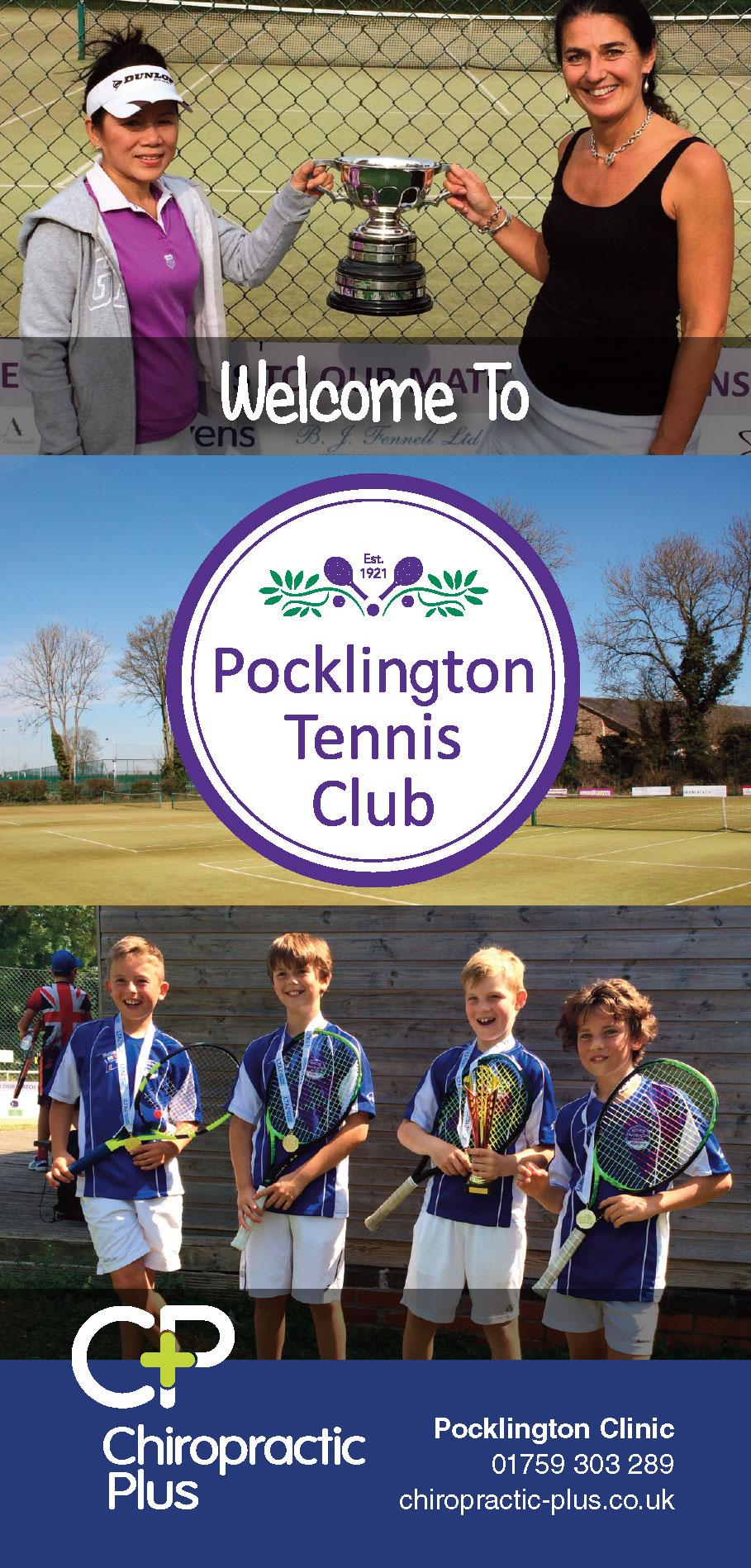 Pocklington Tennis Club leaflet