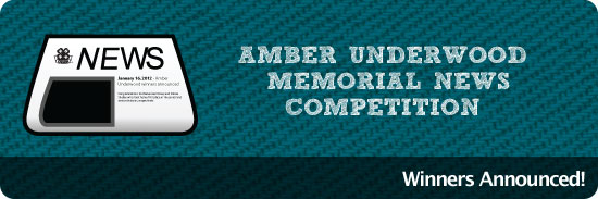 Amber Underwood Memoria News Competition Winners