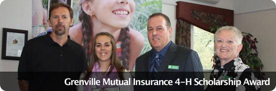 Grenville Mutual Insurance Scholarship