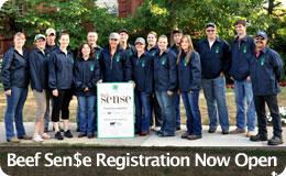 Beef Sense Registration Open