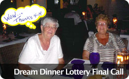 Dream Dinner Lottery