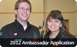 2012 Ambassador Application
