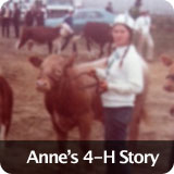 Anne's 4-H Story
