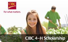 CIBC 4-H Scholarship