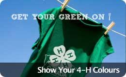 Show Your 4-H Colours