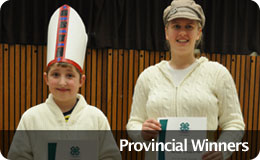 Provincial Communications Winners