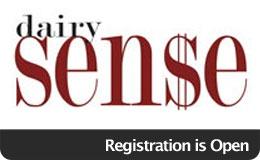 Dairy Sense Registration Open